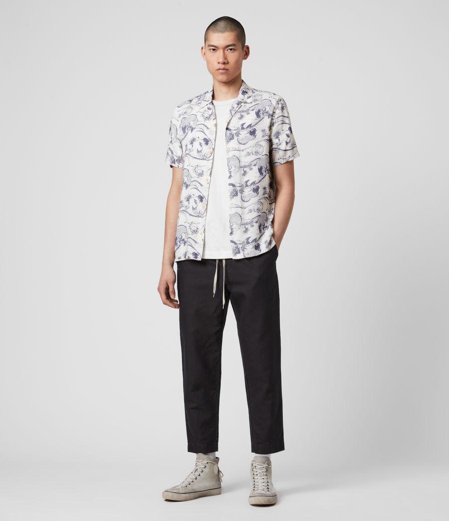 Mens Koi Shirt (ecru) - Image 3