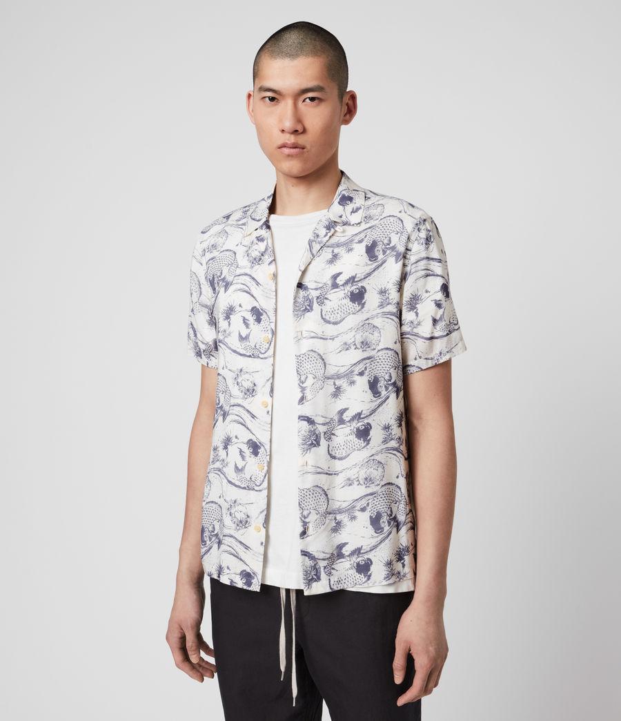 Mens Koi Shirt (ecru) - Image 4