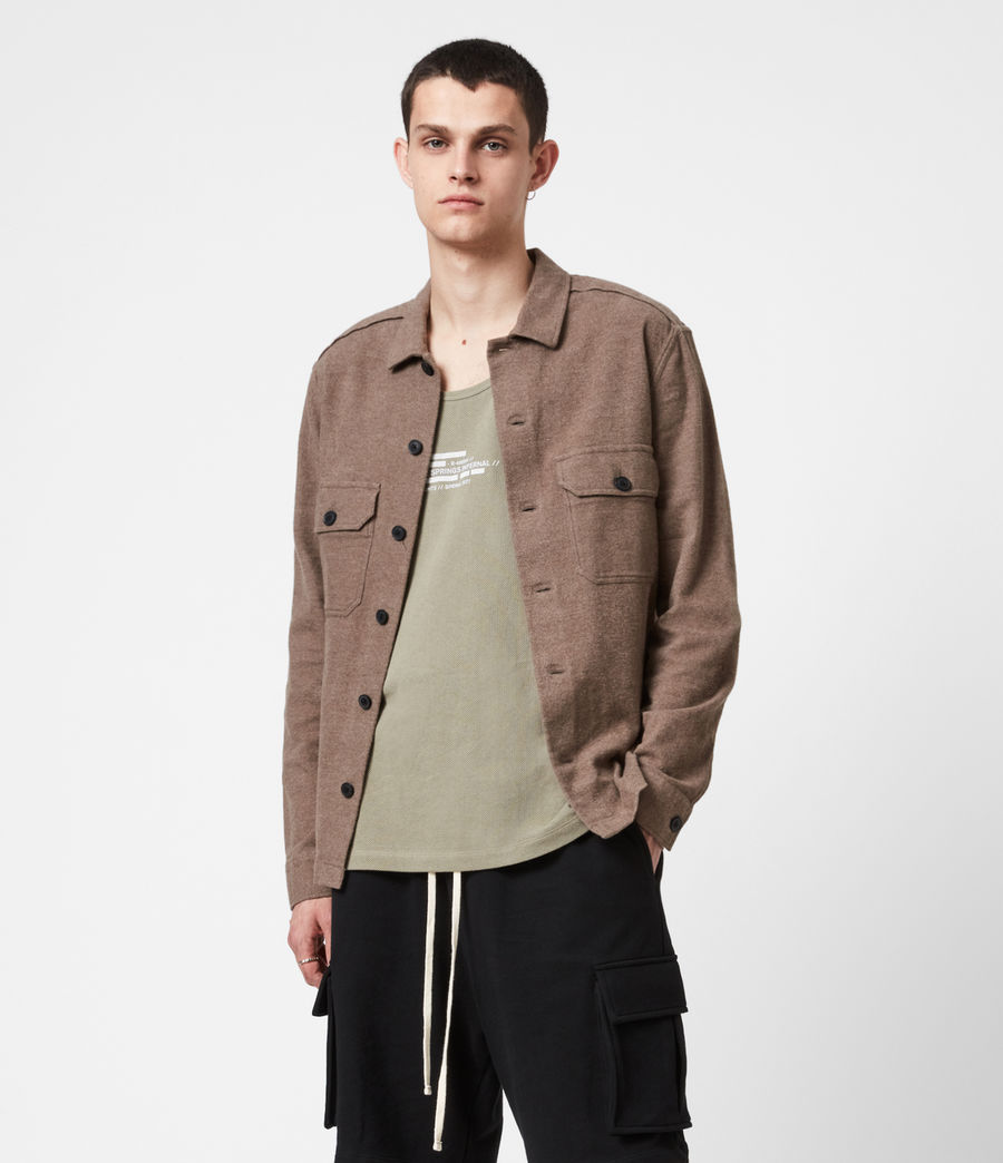 Hommes Chemise Company (mangrove_brown) - Image 1