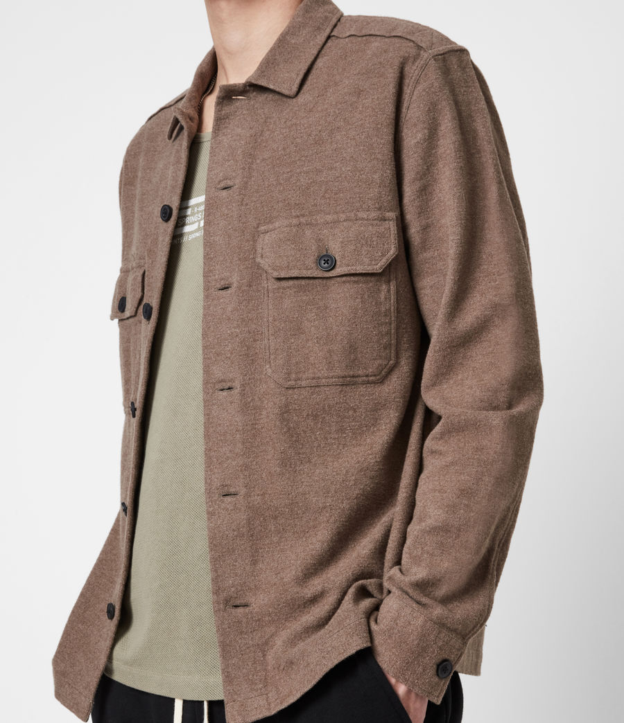 Hommes Chemise Company (mangrove_brown) - Image 4