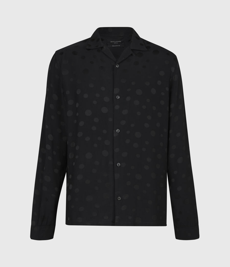 Men's Isidro Shirt (jet_black) - Image 2