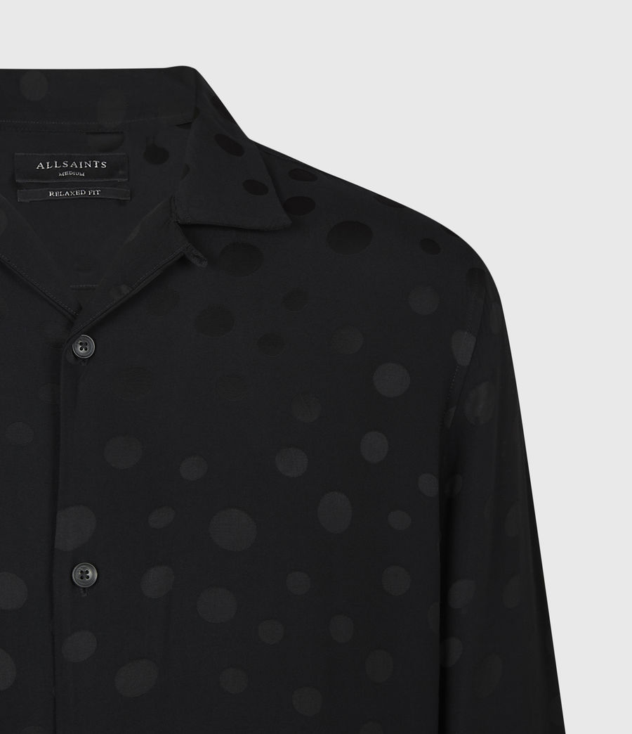 Men's Isidro Shirt (jet_black) - Image 4