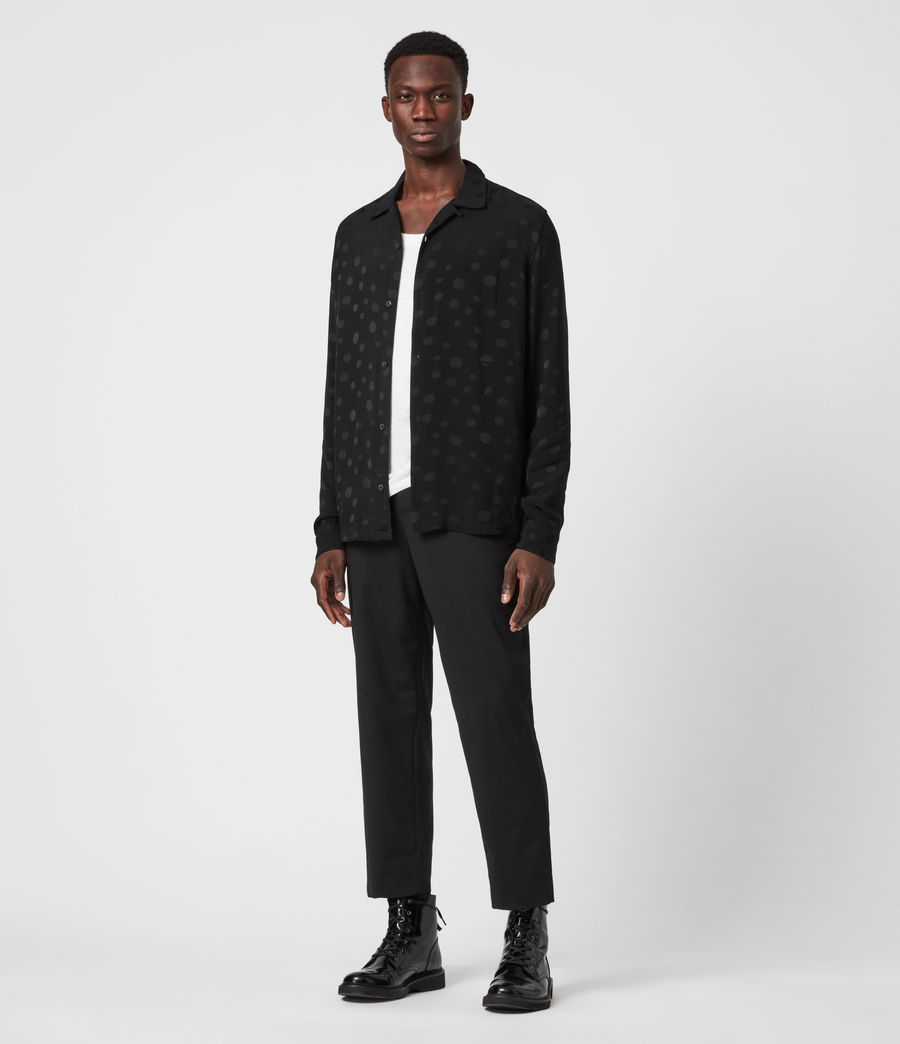 Mens Isidro Shirt (jet_black) - Image 5
