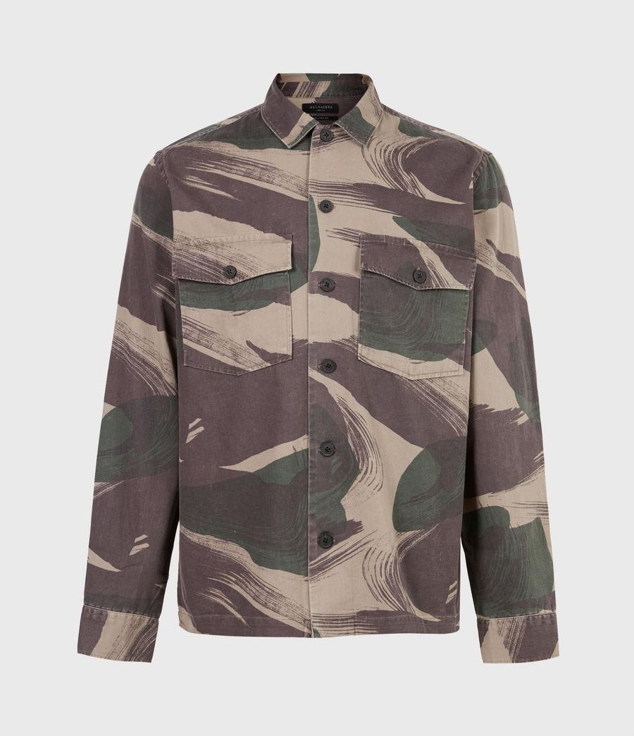 Men's Section Shirt (green_camo) - Image 2