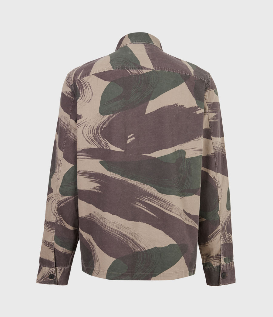 Men's Section Shirt (green_camo) - Image 3