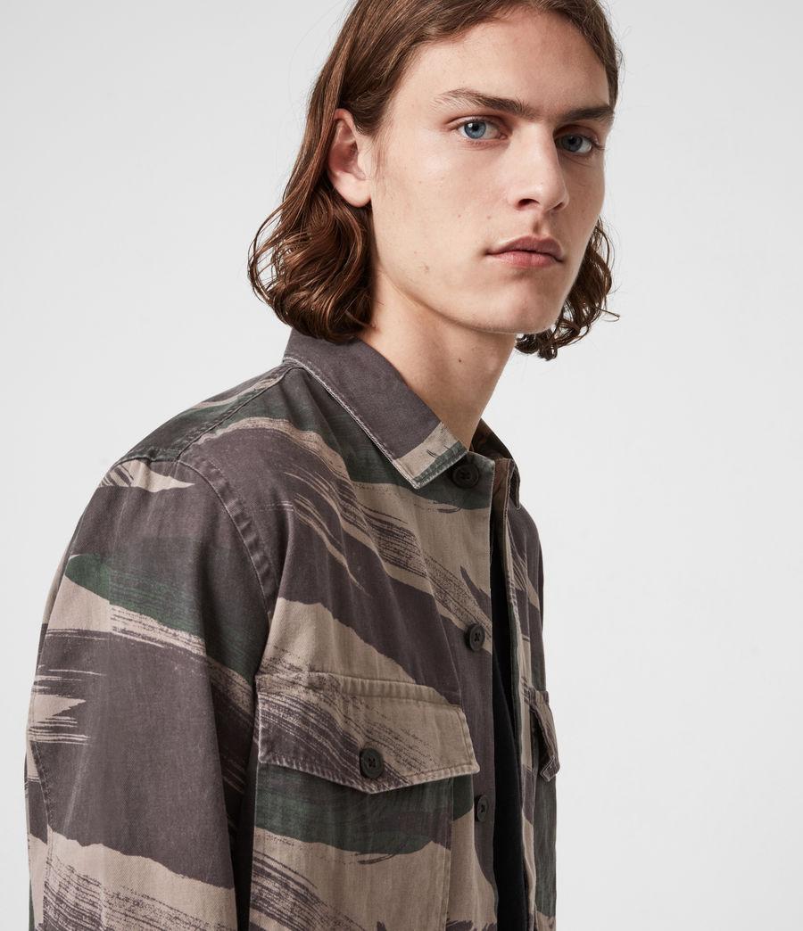 Men's Section Shirt (green_camo) - Image 4