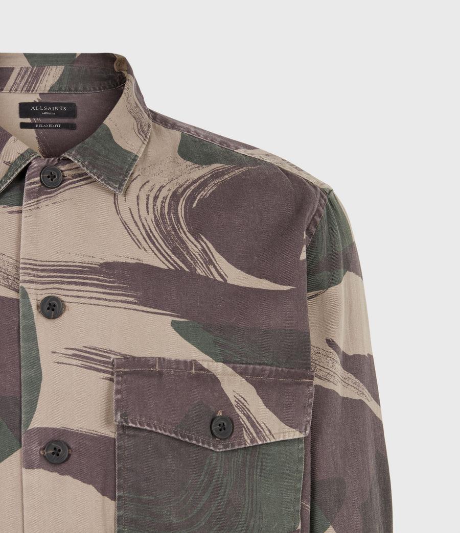 Men's Section Shirt (green_camo) - Image 6