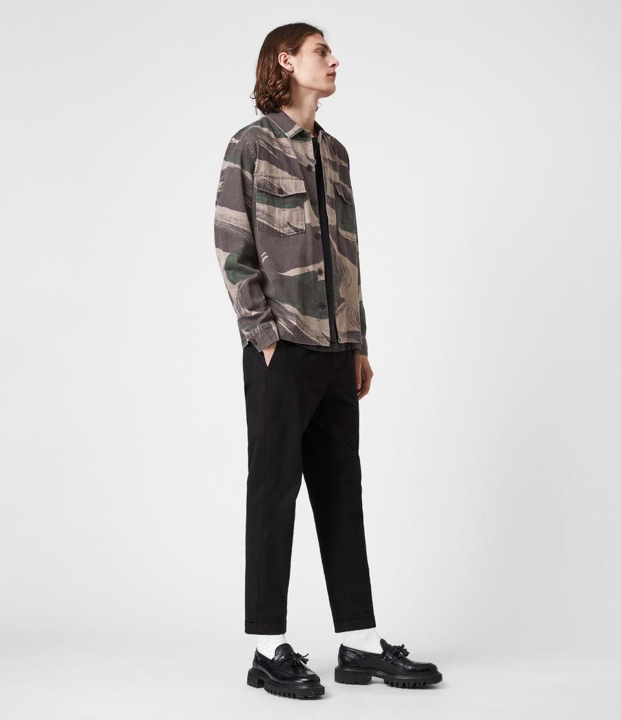 Men's Section Shirt (green_camo) - Image 7