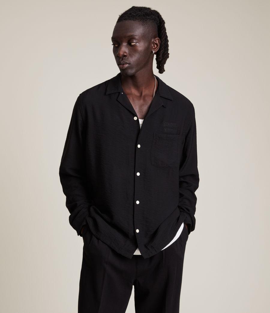 Men's Commune Shirt (jet_black) - Image 1
