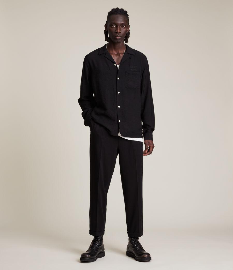 Men's Commune Shirt (jet_black) - Image 3