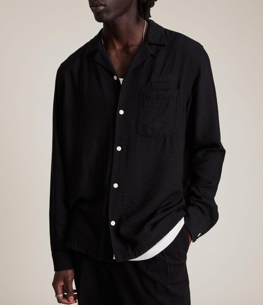 Men's Commune Shirt (jet_black) - Image 5