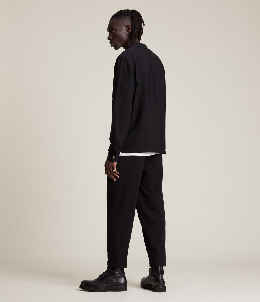 Men's Commune Shirt (jet_black) - Image 6