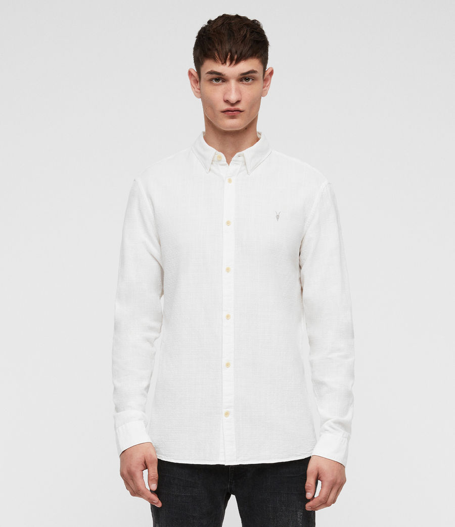 Mens Dulwich Shirt (white) - Image 1