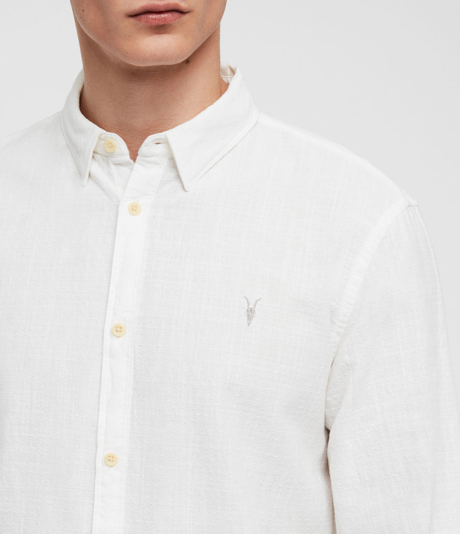 Mens Dulwich Shirt (white) - Image 2