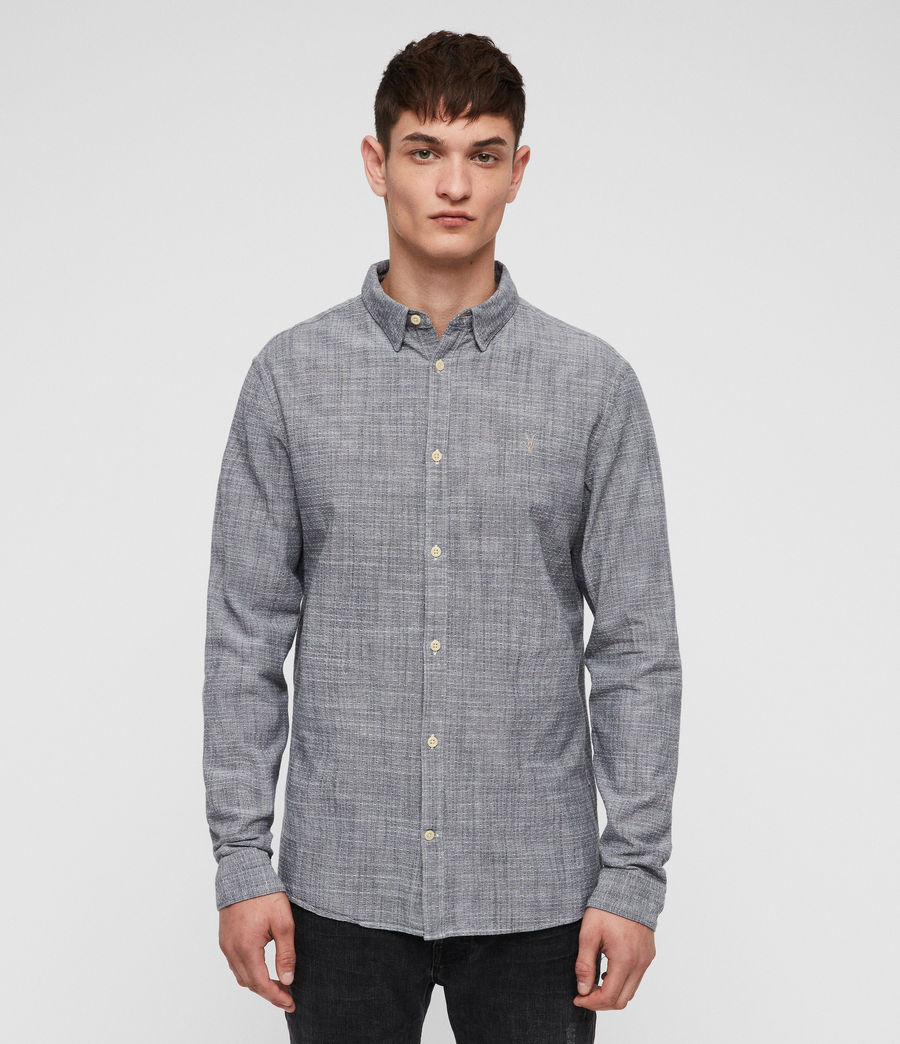 Hombres Camisa Dulwich (light_grey) - Image 1