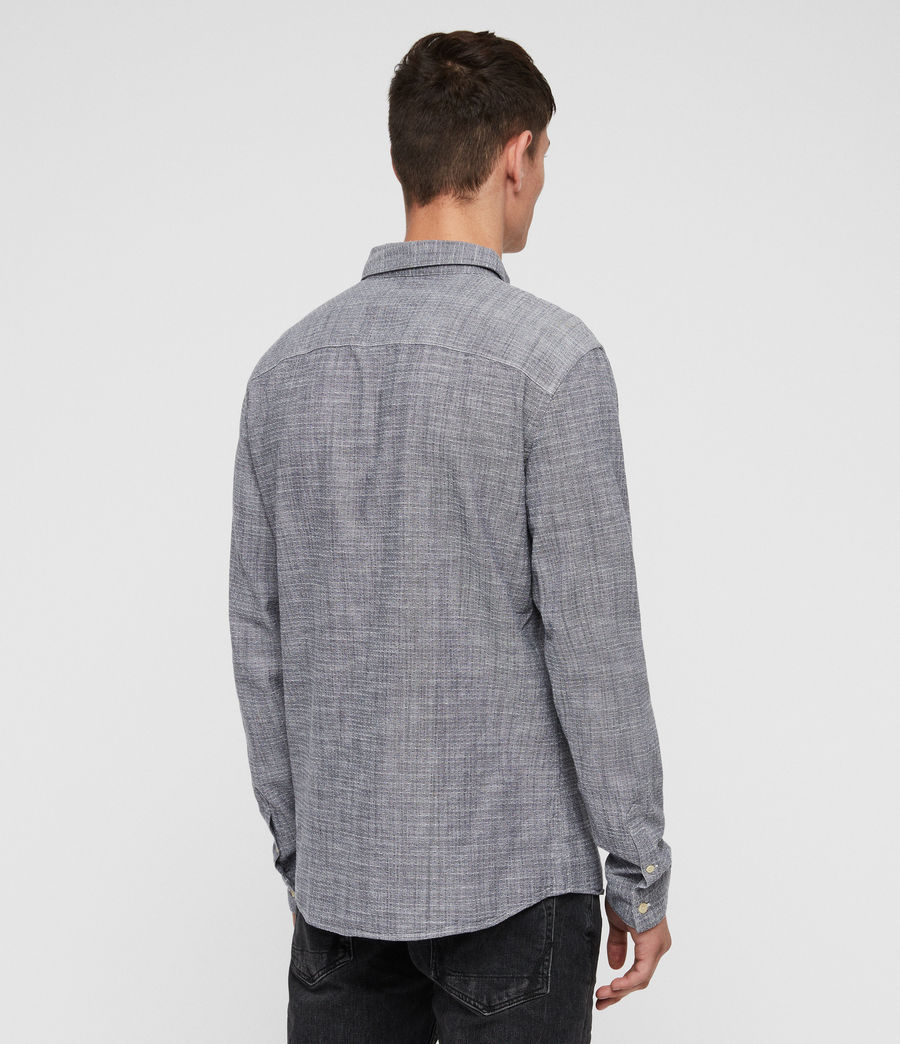 Hombres Camisa Dulwich (light_grey) - Image 4