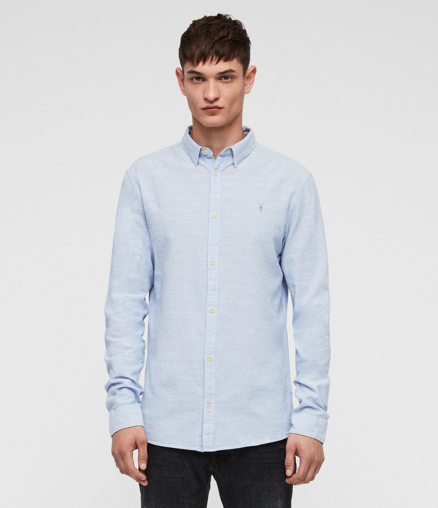 Mens Dulwich Shirt (light_blue) - Image 1