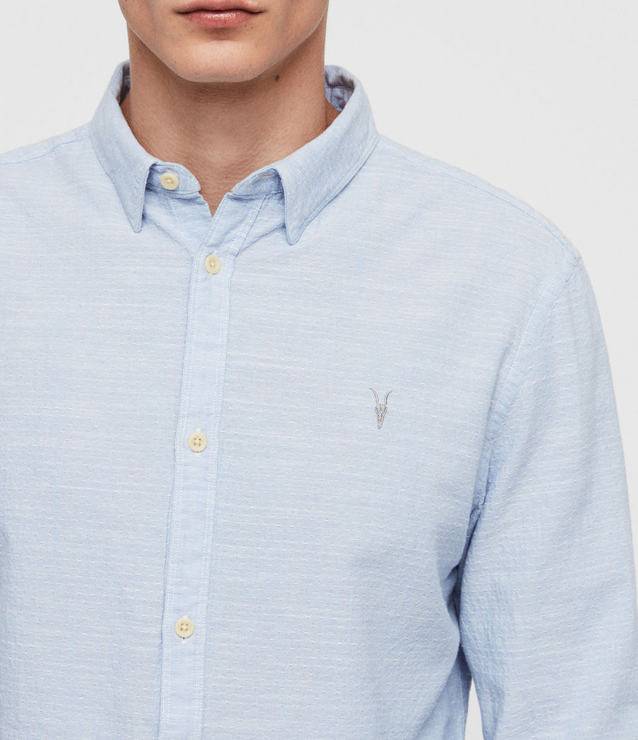 Mens Dulwich Shirt (light_blue) - Image 2