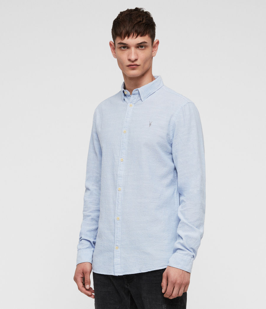 Mens Dulwich Shirt (light_blue) - Image 3