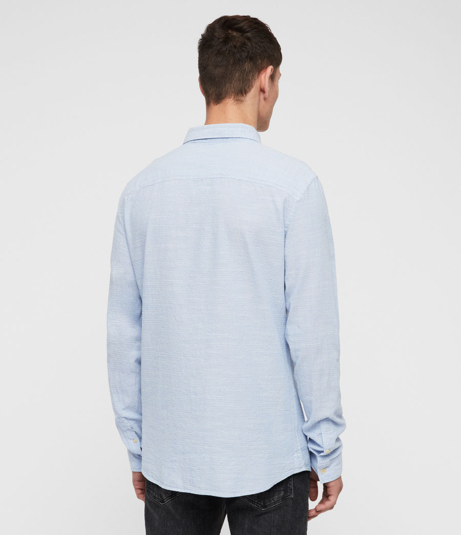 Mens Dulwich Shirt (light_blue) - Image 4
