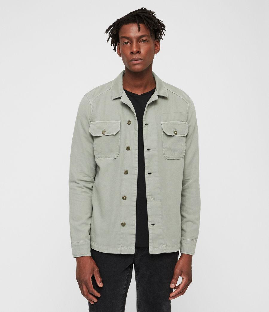 Hombre Camisa Jackson (khaki) - Image 1