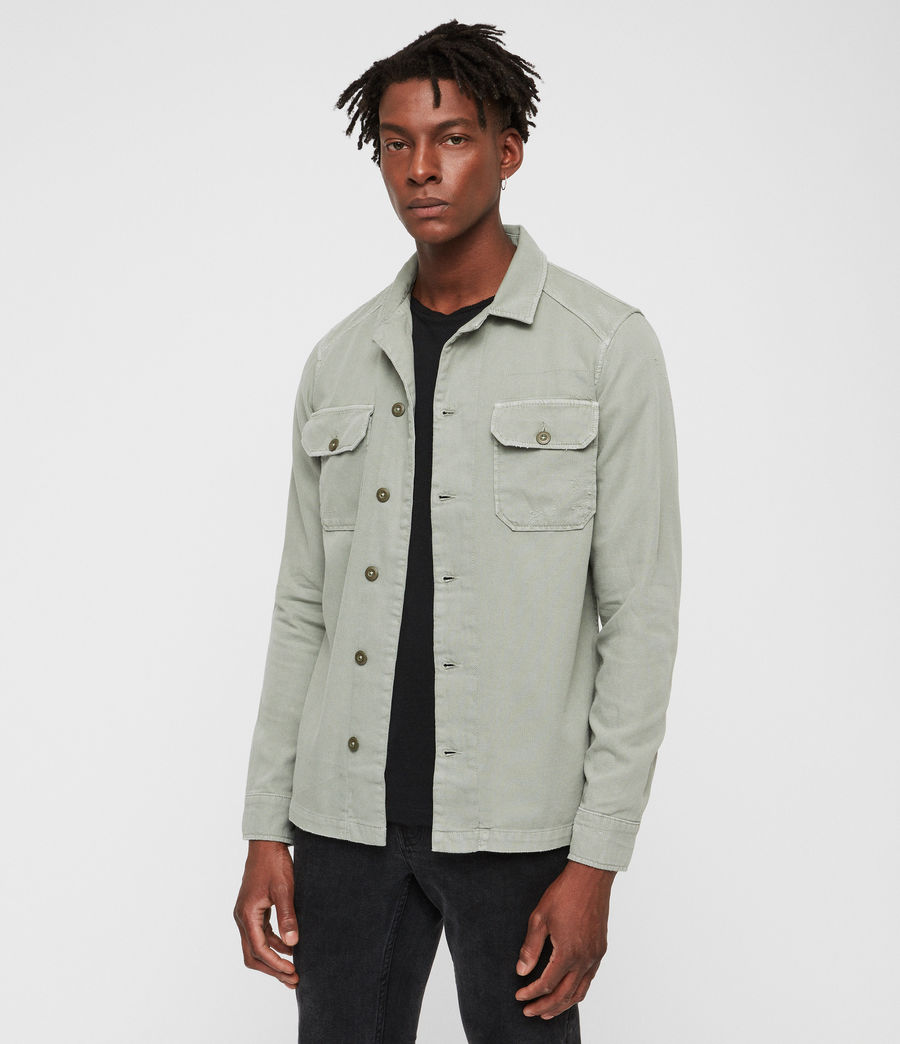 Hombre Camisa Jackson (khaki) - Image 4