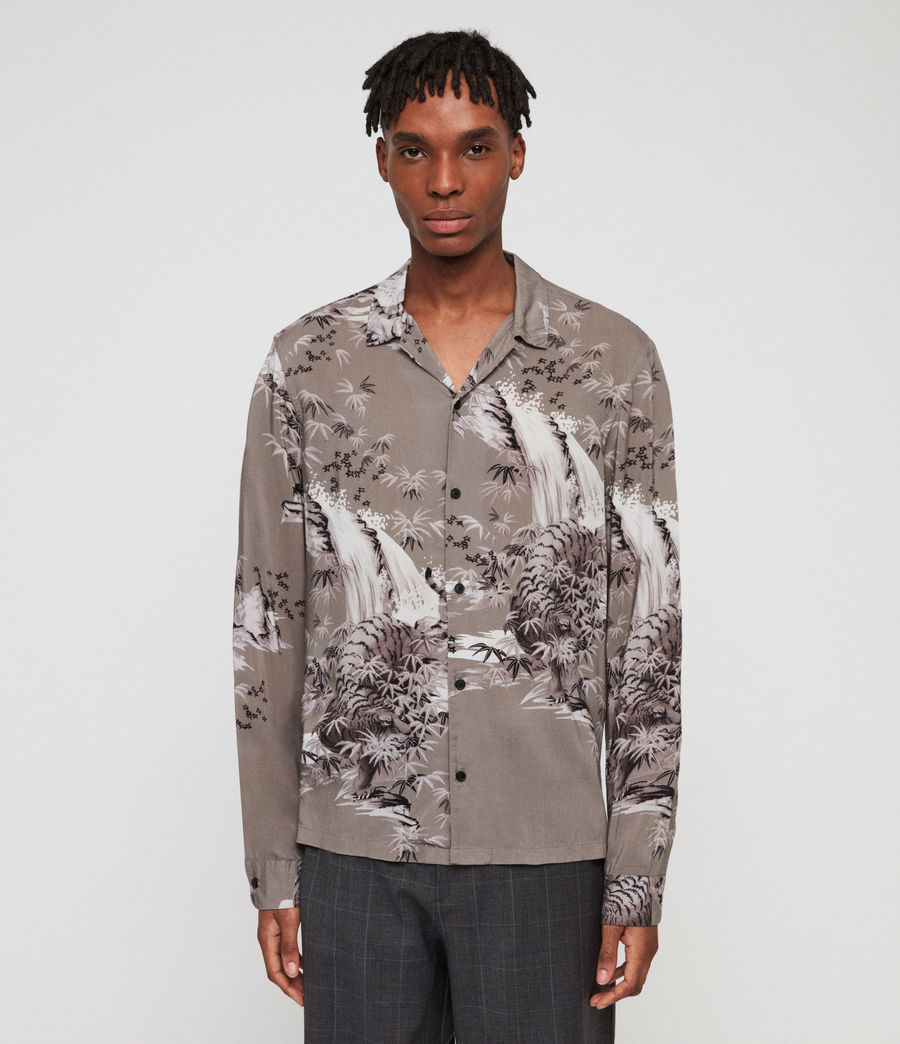 Men's Java Shirt (grey) - Image 1