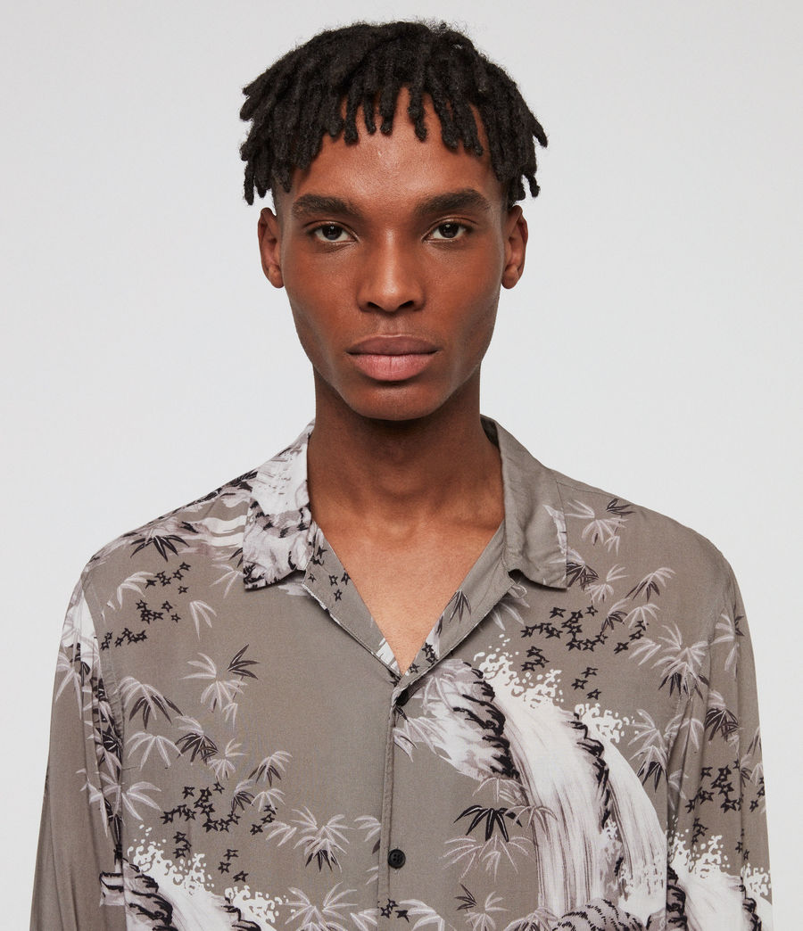 Uomo Java Shirt (grey) - Image 2