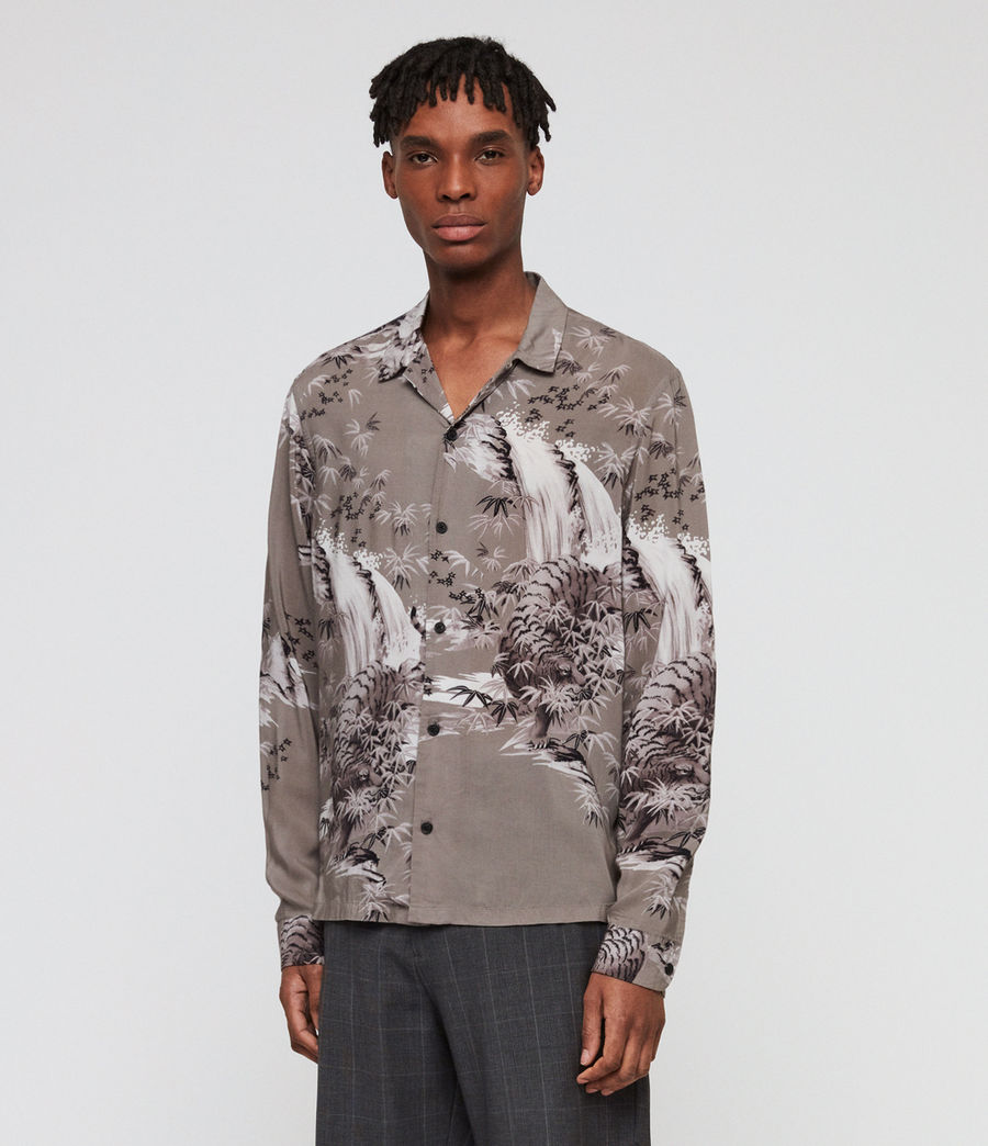 Men's Java Shirt (grey) - Image 3