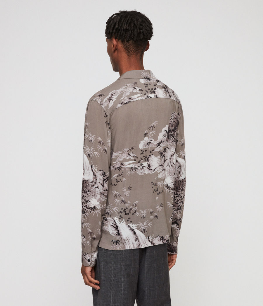 Men's Java Shirt (grey) - Image 4