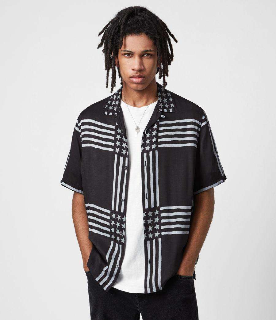 Men's Union Shirt (jet_black) - Image 1