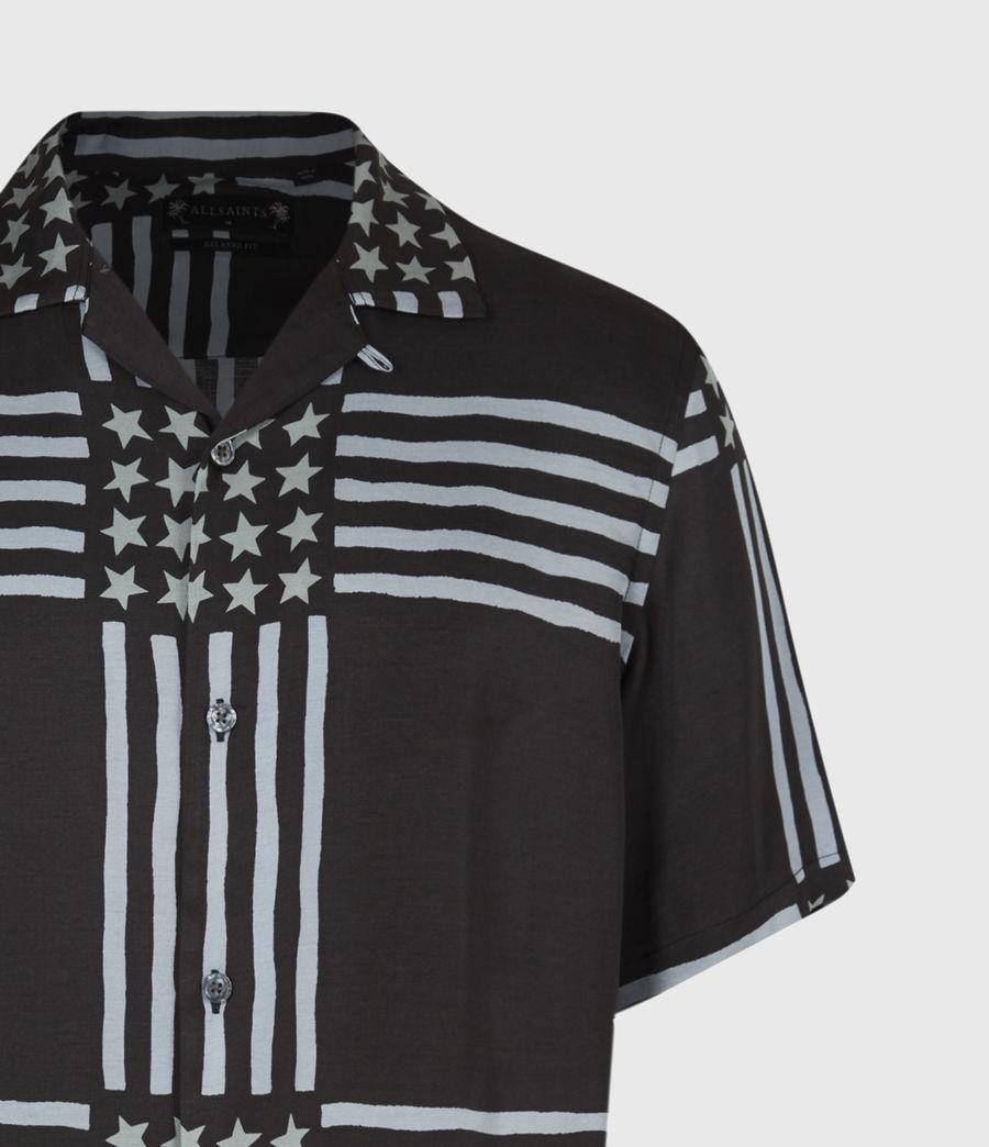 Men's Union Shirt (jet_black) - Image 5