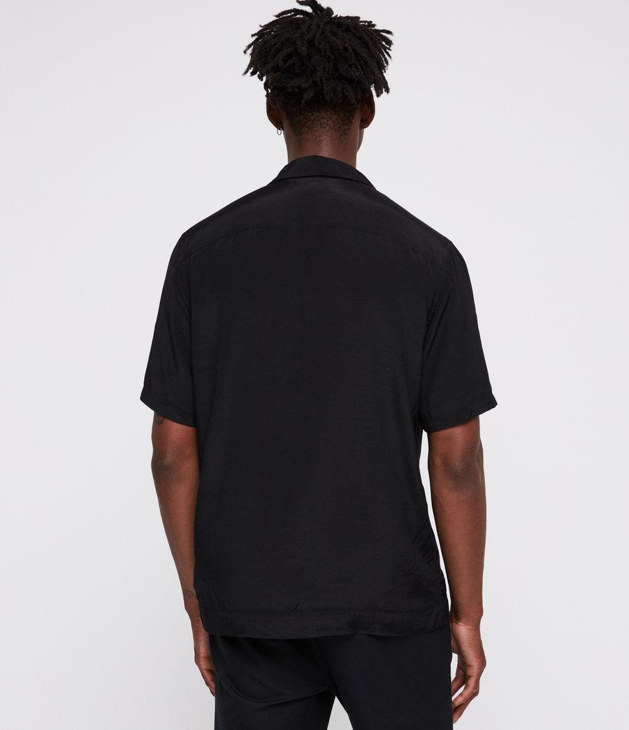Men's Bozeman Shirt (black_white) - Image 4