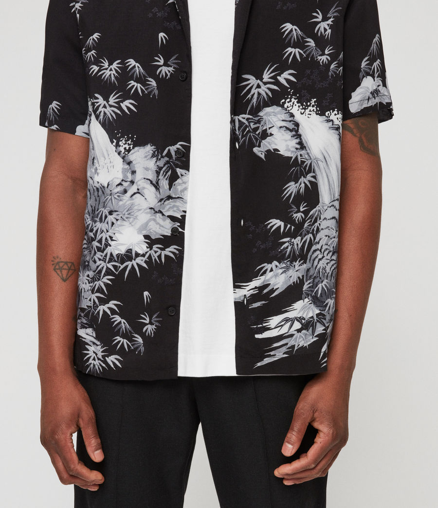 Men's Java Shirt (jet_black) - Image 5