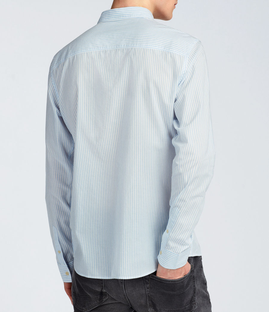 Hommes Chemise Summit (light_blue_stripe) - Image 4