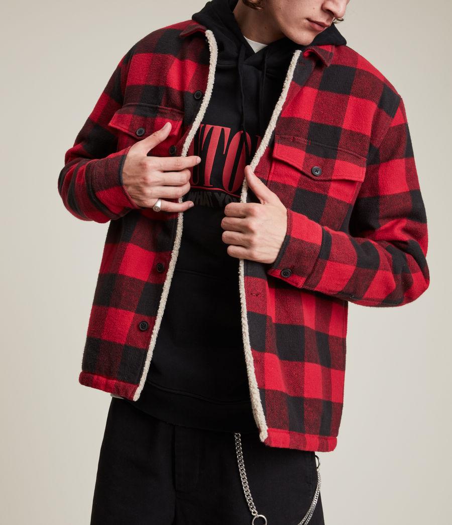 Men's Claypool Jacket (sienna_red) - Image 1