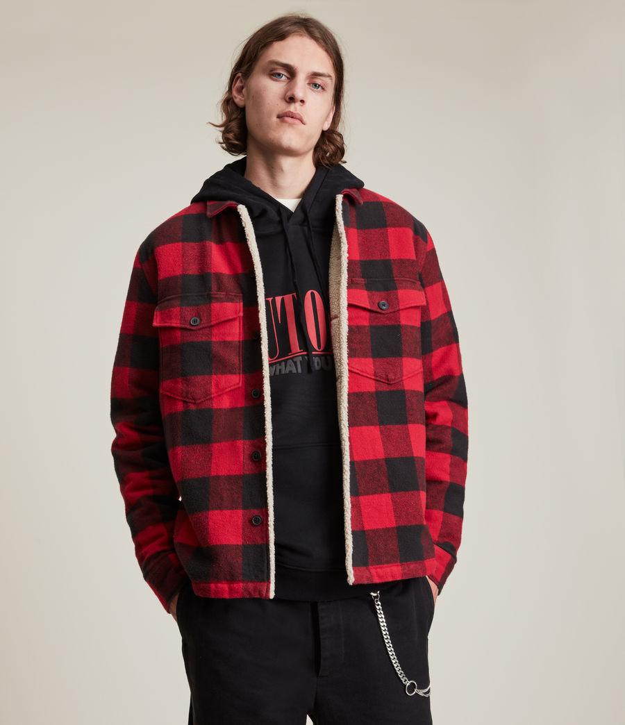 Men's Claypool Jacket (sienna_red) - Image 3