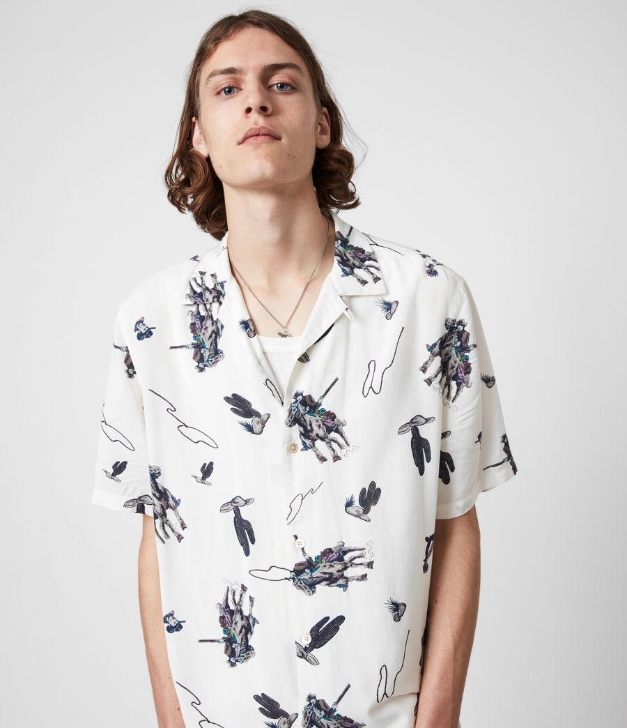 Men's Vaquero Shirt (ecru) - Image 1