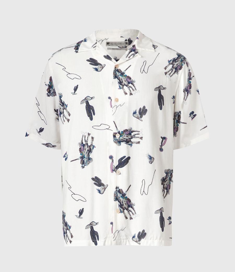 Men's Vaquero Shirt (ecru) - Image 2