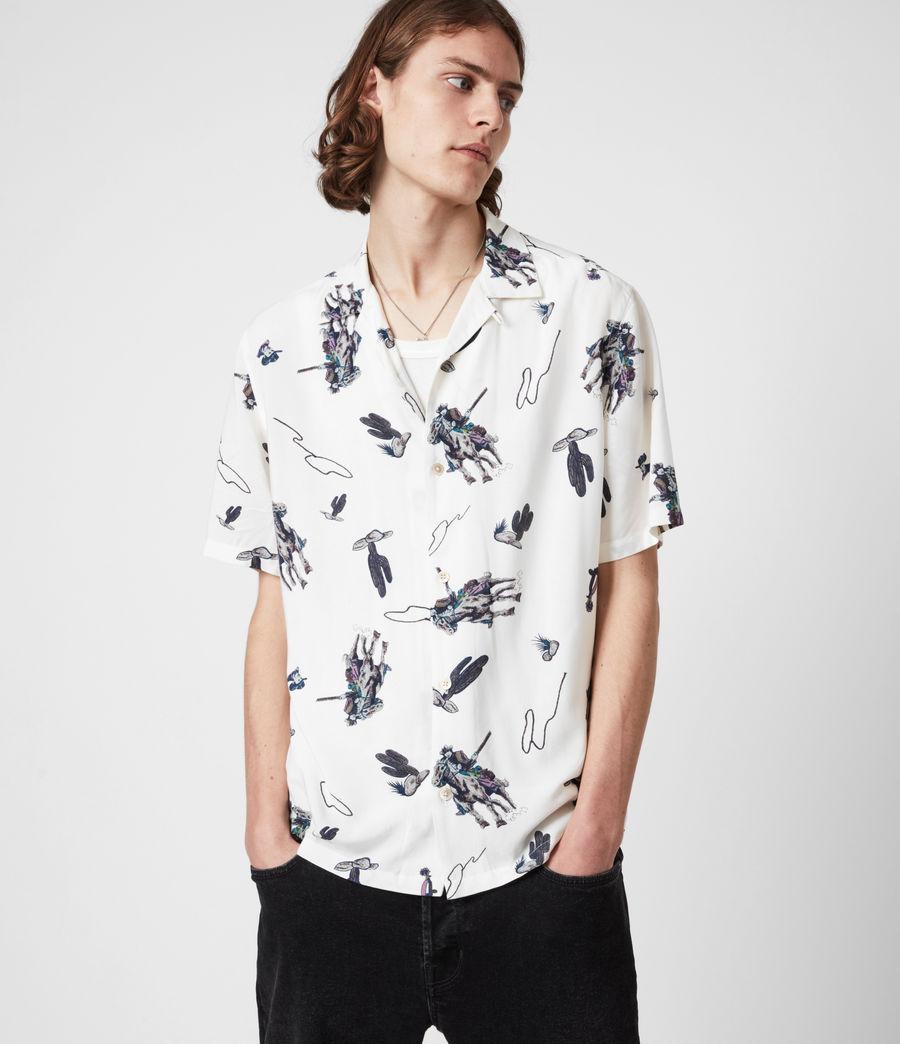 Men's Vaquero Shirt (ecru) - Image 4