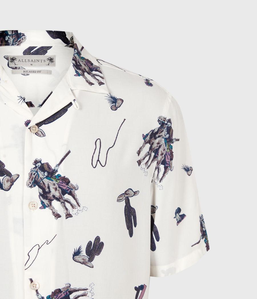 Men's Vaquero Shirt (ecru) - Image 5
