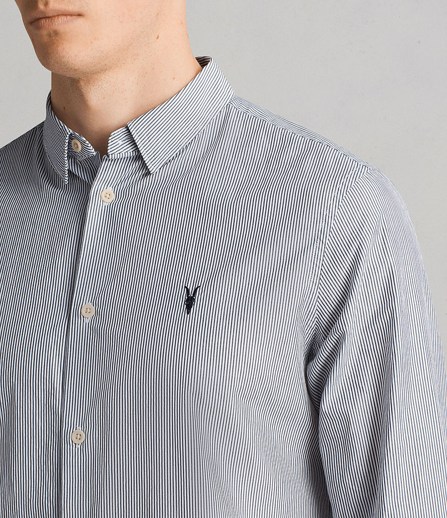 Men's Kelso Shirt (ink_stripe) - Image 2