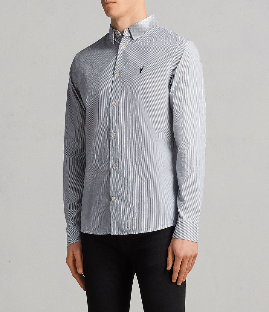 Men's Kelso Shirt (ink_stripe) - Image 3