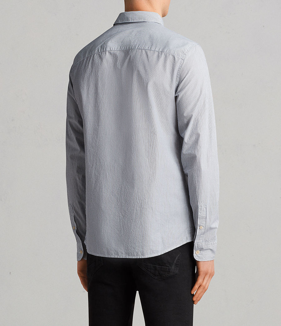 Men's Kelso Shirt (ink_stripe) - Image 4