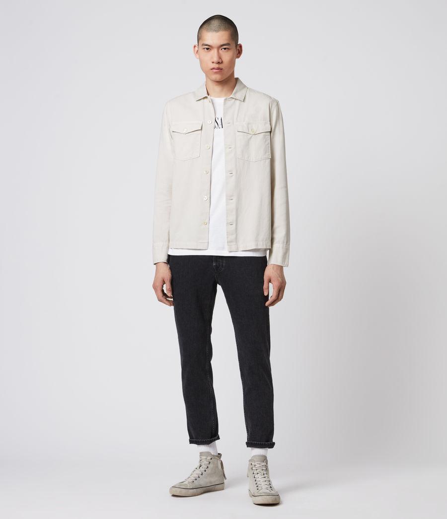 Mens Spotter Shirt (bleach_grey) - Image 7