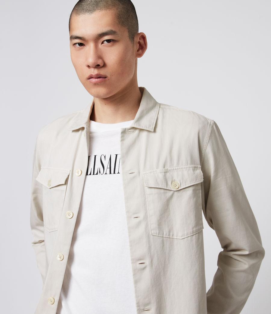 Men's Spotter Shirt (bleach_grey) - Image 1