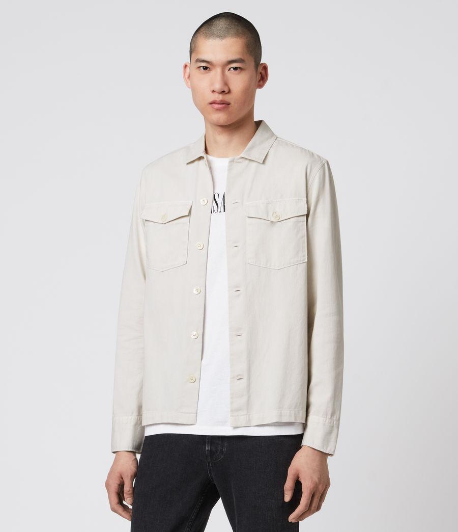 Mens Spotter Shirt (bleach_grey) - Image 3