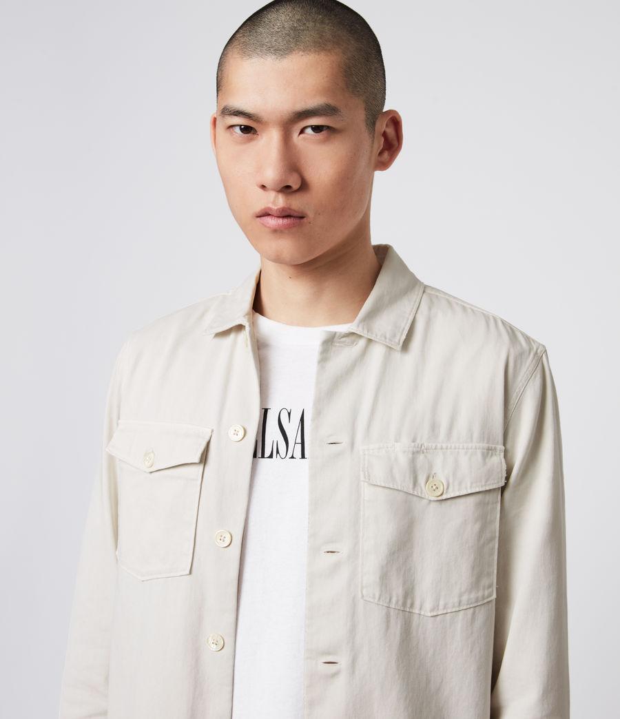 Men's Spotter Shirt (bleach_grey) - Image 4
