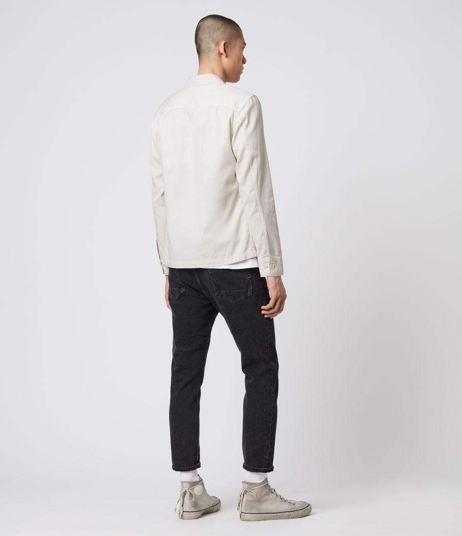 Men's Spotter Shirt (bleach_grey) - Image 5