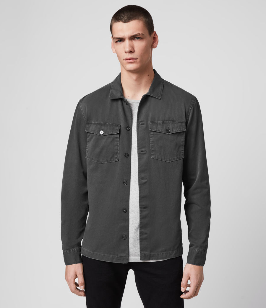 Mens Spotter Shirt (iron_grey) - Image 1